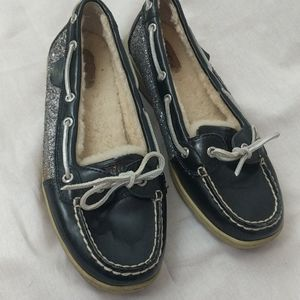 Sperry Topsider Fur Lined Boat Shoes